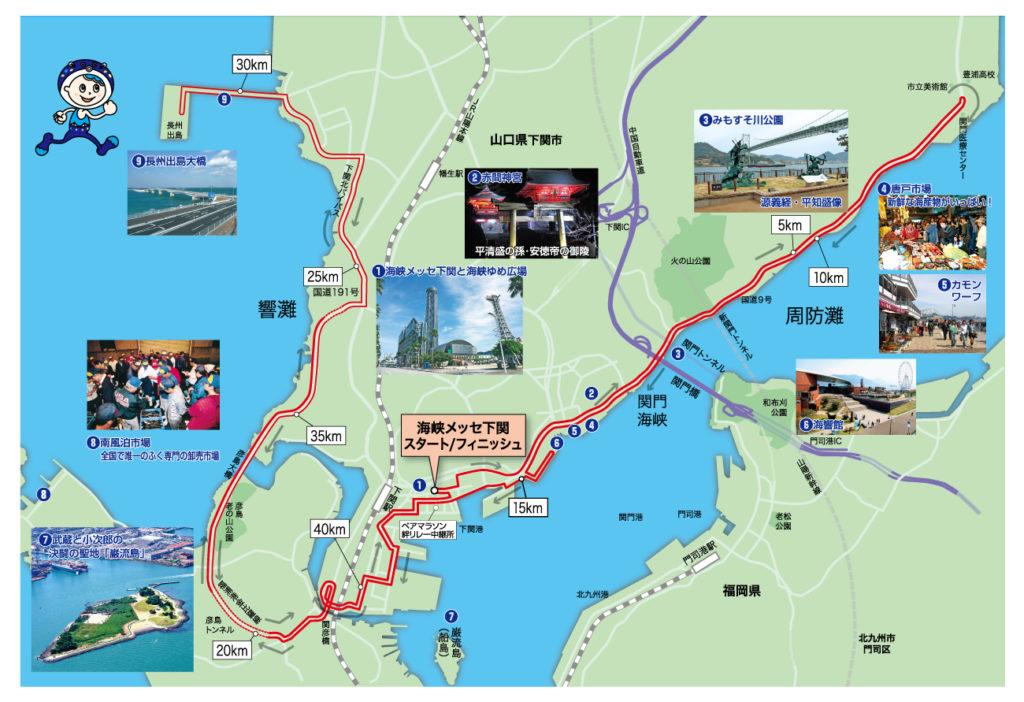 下関海峡マラソン攻略