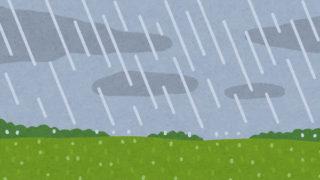 マラソン-雨