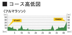 熊本城マラソン-高低差
